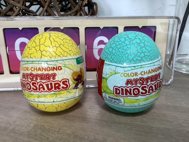 Color Changing  -Mystery Dinosaurs *Final Sale*