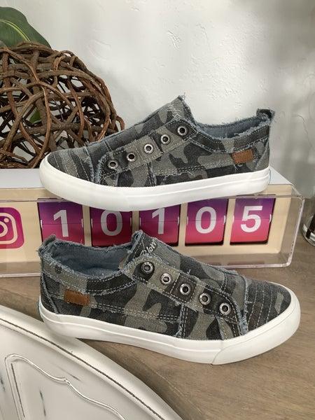 Grey Camoflauge Sneakers
