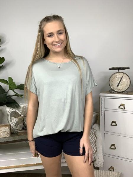 Navy Comfy Shorts *Final Sale*