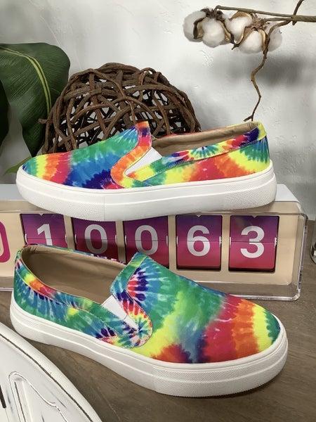 Tie-Dye Slip On Sneaker