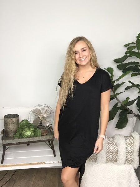 Midi Black Dress *Final Sale*