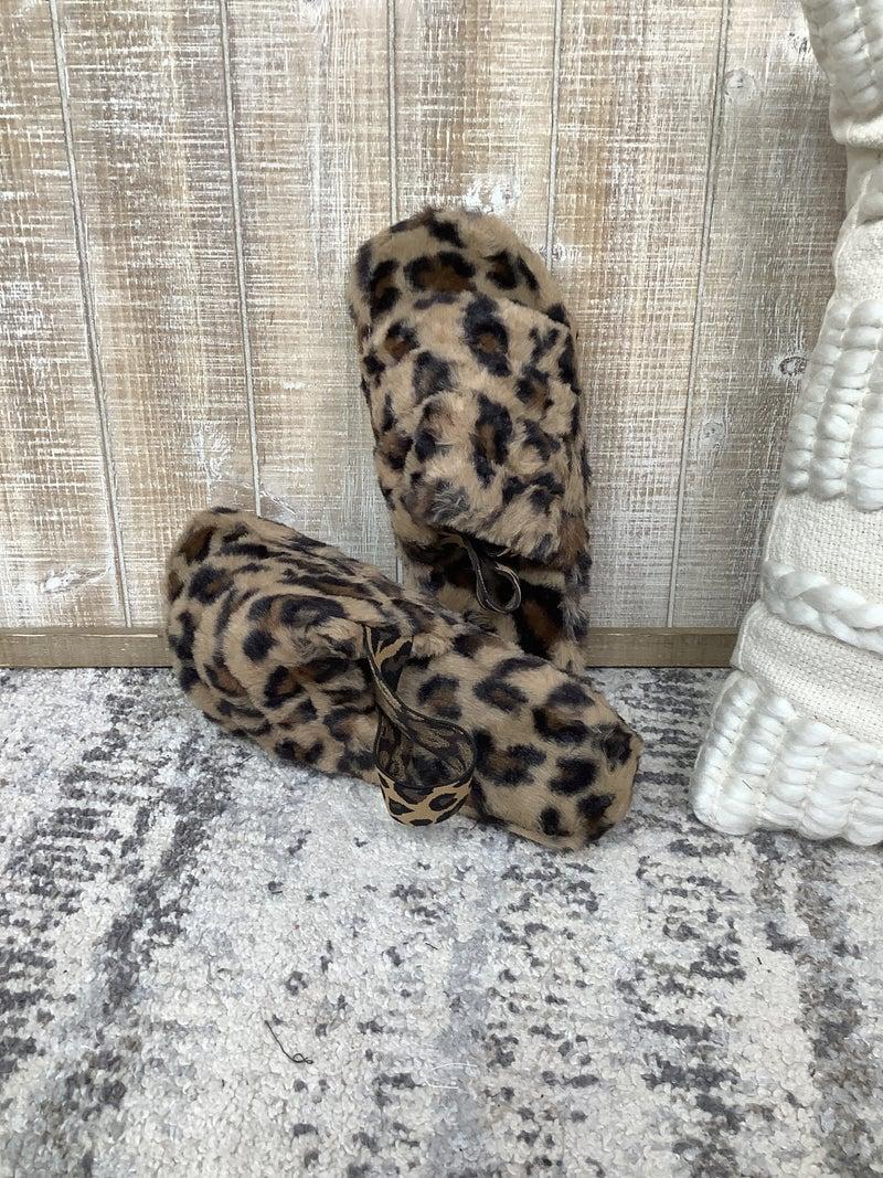 Leopard Slide *Final Sale*