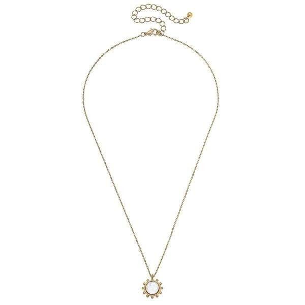 Julia Coin Pearl Necklace *Final Sale*