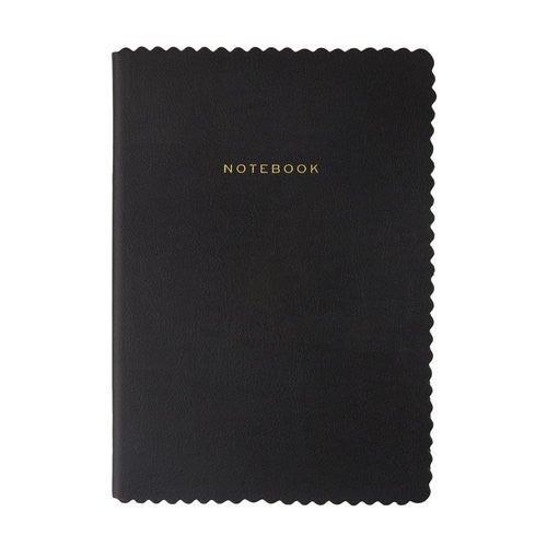 Black Scallop Journal Notebook