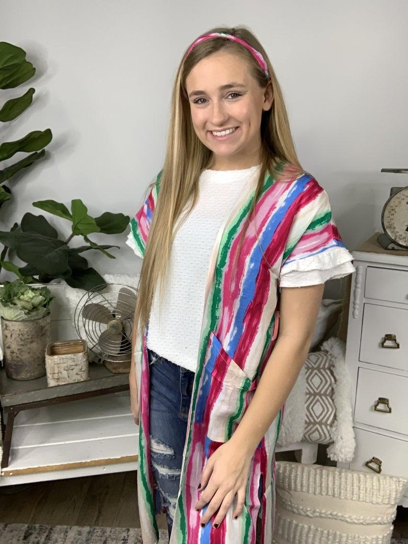 Fucshia Kimono
