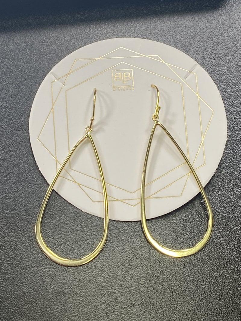 Oval Earrings *Final Sale*