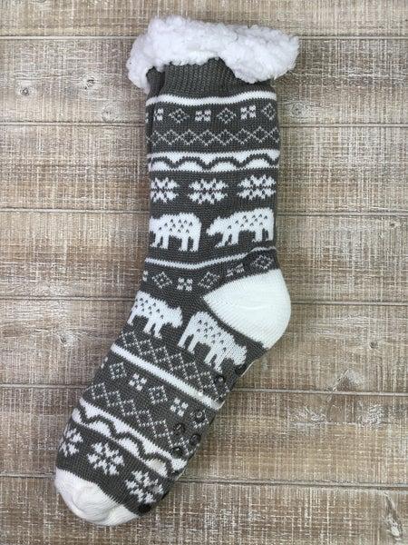 Holiday Plush Socks *Final Sale*