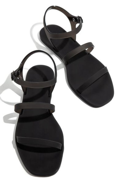 Black Jelly Sandal *Final Sale*