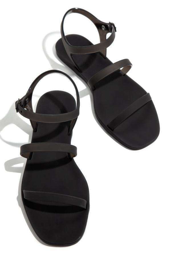 Black Jelly Sandal *Final Sale*