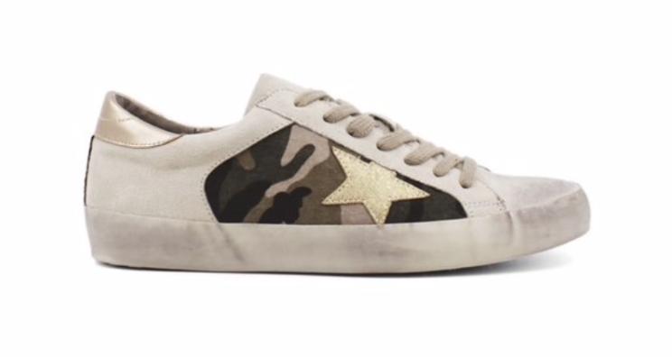 Camo Star Sneaker