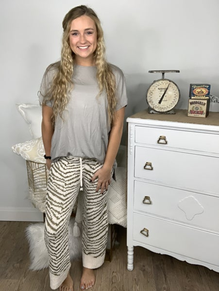 Striped Comfy Pants