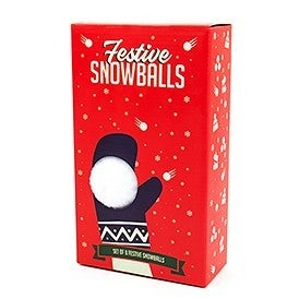 Chrismas Festive Snowballs