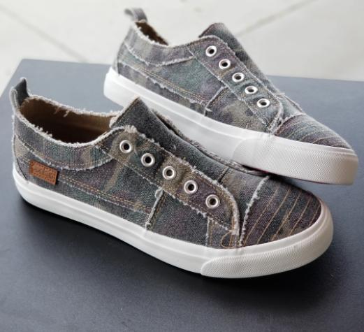 Camo Canvas Sneaker