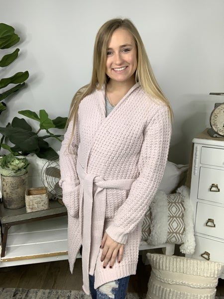 Calling For Pink Cardigan