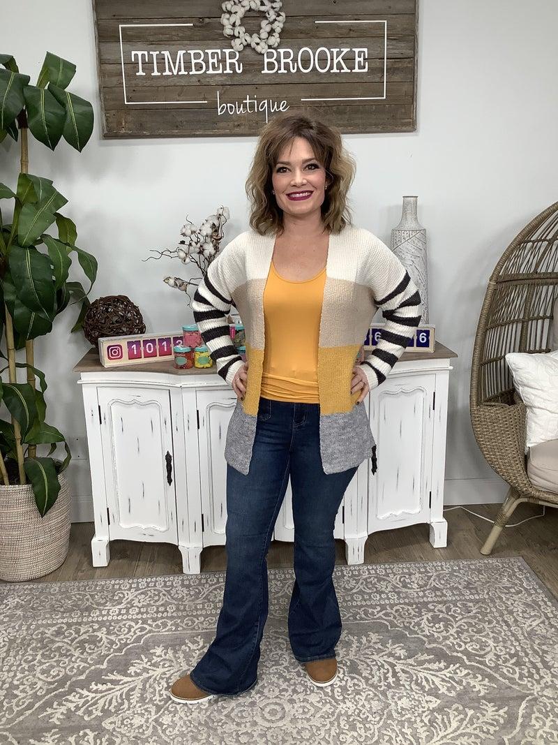 Judy Blue Patch Pockets Flare