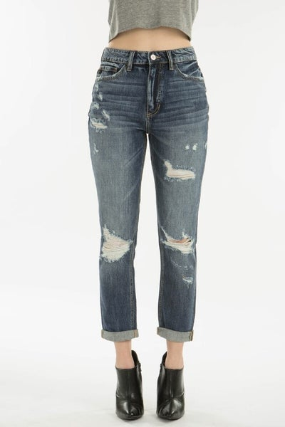 KanCan Highrise Girlfriend Jeans *Final Sale*