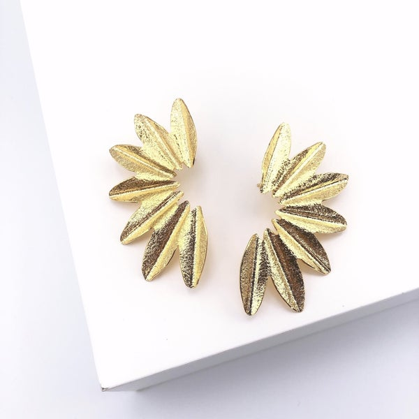 24 Kt Gold Plated Earrings *Final Sale*