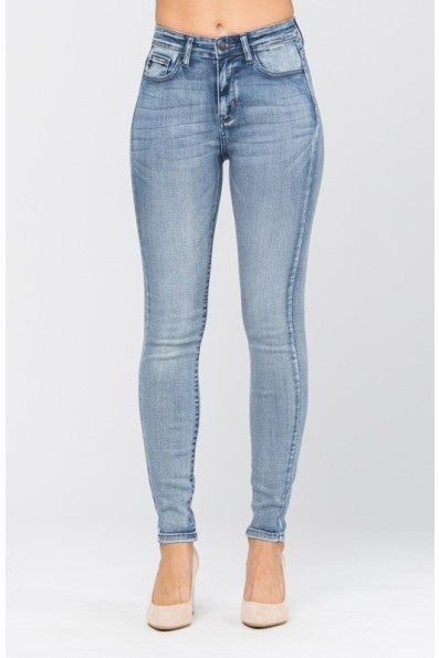 Light Hi Rise Heavy Hand Skinny Jean