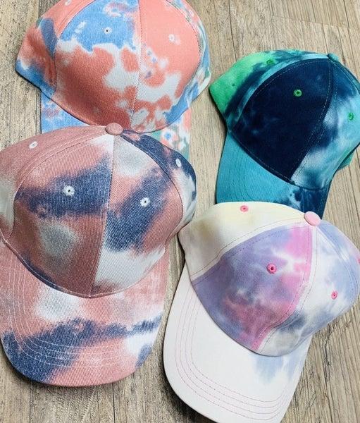 Tie Dye Ball Cap *Final Sale*