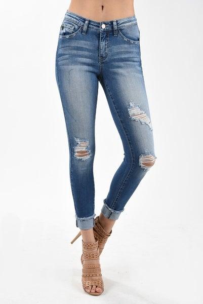 Medium Mid rise Ankle Skinny Jean