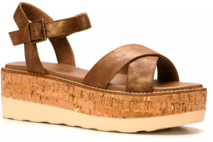 Fluffie Brown Sandal
