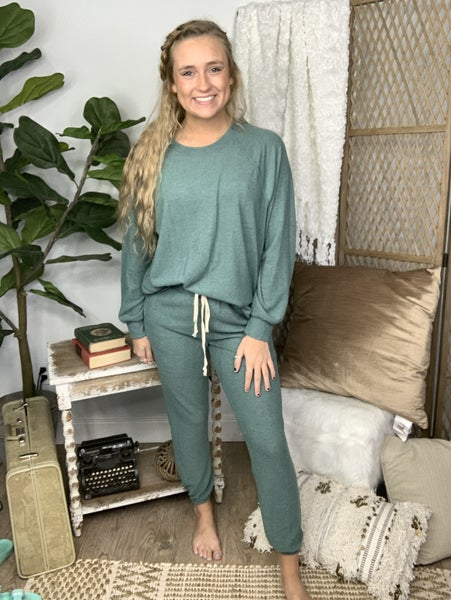 Sea Green Lounge Pants