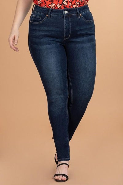Royalty For Me Non-Distressed Skinnies - Dark Wash SALE