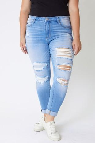 The Zoey Distressed Skinnies - SALE