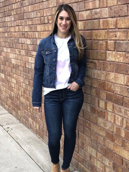 Dark Denim jean jacket
