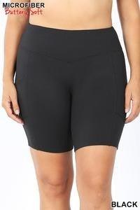 Bike Shorts with Pockets