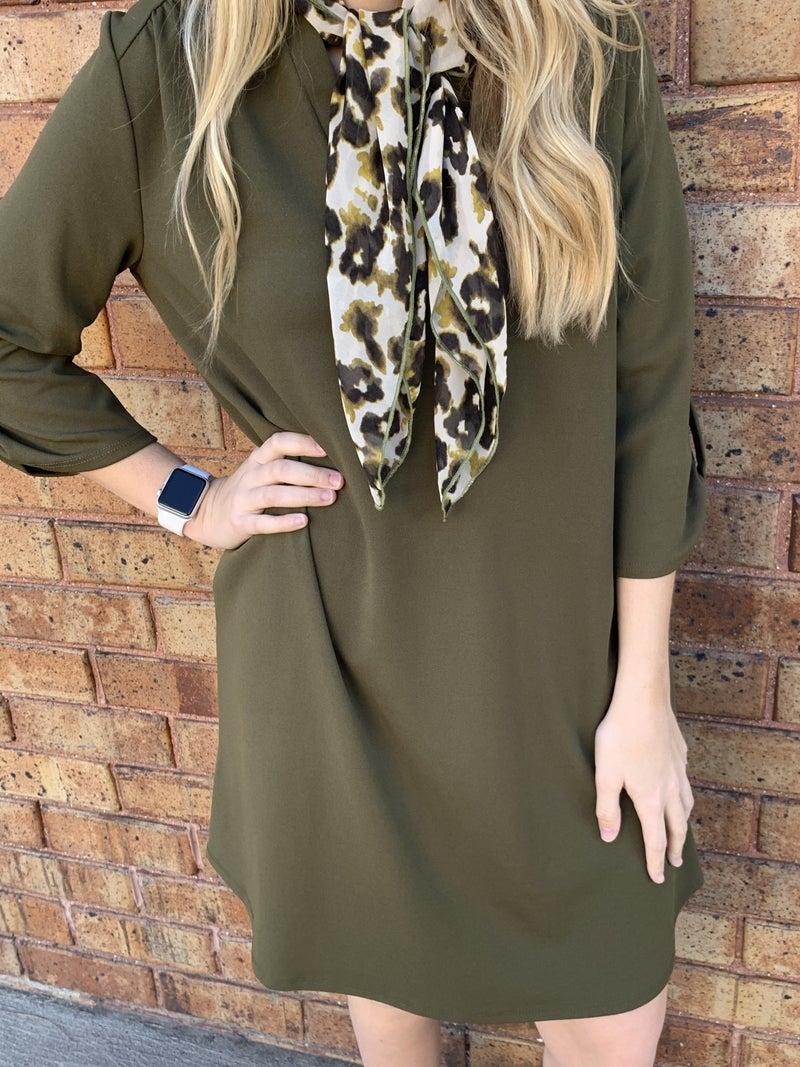 Olive tunic/dress