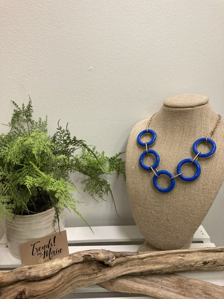 Royal ring necklace