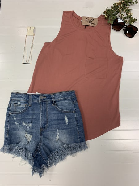 ripped vintage shorts