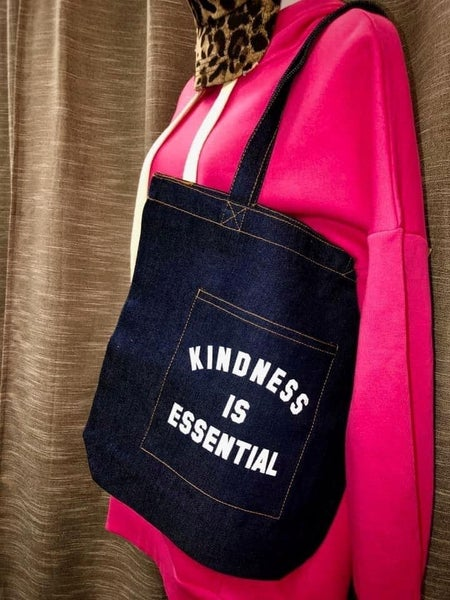 Kindness is Essential Canvas Tote