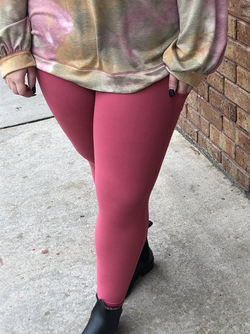 Leggings Triangular pockets