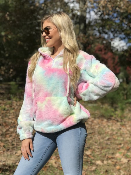 Cotton Candy Sherpa