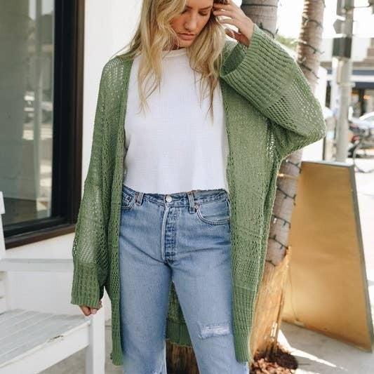 Loose Knit Cardigan
