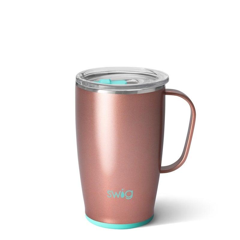Swig Travel Mug - 18oz - Shimmer Rose Gold