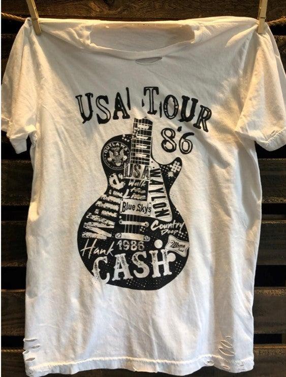 Cash USA '86 Tour Tee