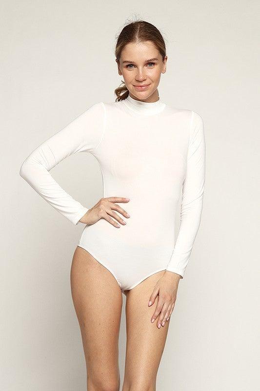Mock Neck LS Bodysuit