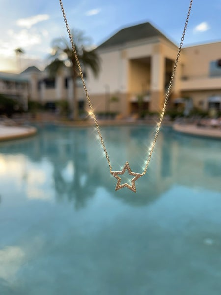 .925 Star Necklace