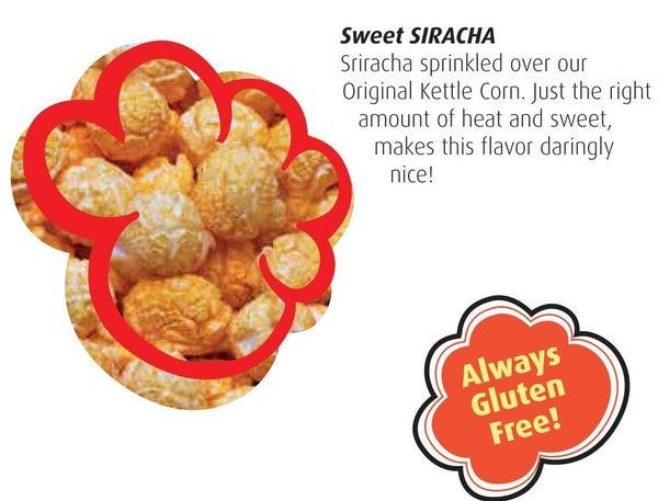 Sweet Sriracha Kettle Corn