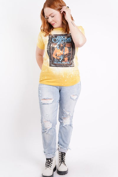 Eric Clapton Graphic Band Tee