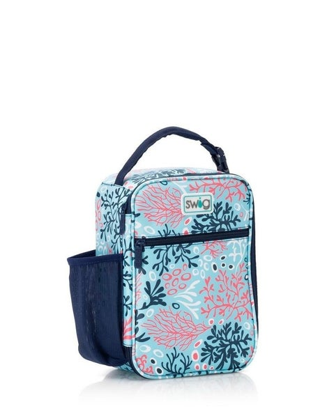 Coral Me Crazy Boxxi Lunch Bag By Swig