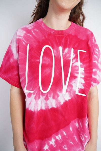 LOVE Tie Dye Graphic Tee