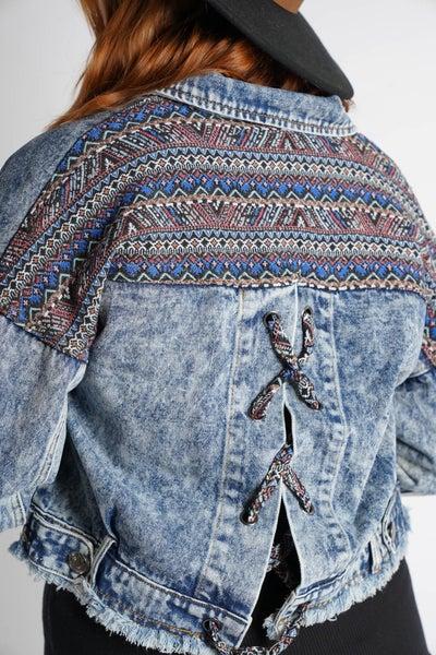 Acid Wash How It's Done Denim Jacket, Blue