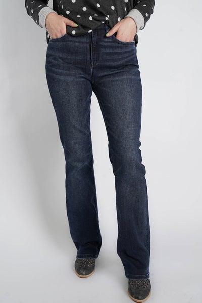 The WINONA High Waist Slim Bootcut Jean By Judy Blue