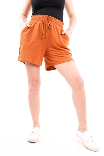 Cool Girl Drawstring Jersey Shorts, 3 Colors!