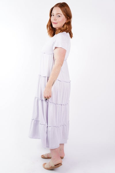 Save Your Tiers Jersey Dress