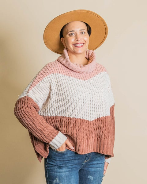 Knits Thing Colorblock Sweater
